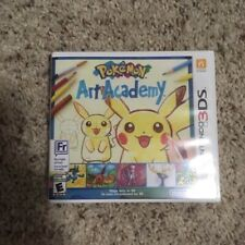 Pokemon Art Academy (Nintendo 3DS, 2014)