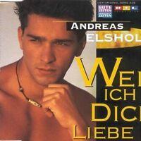 Andreas Elsholz (GZSZ) Weil ich dich liebe (1995) [Maxi-CD]