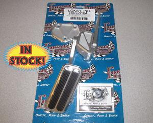 Lokar BAG-6164 1967-70 Chevy Truck Throttle Pedal Assembly - Alum/Rubber