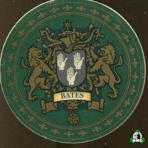 English Heraldic Coaster: Bates