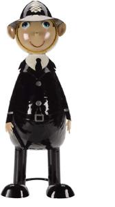 PC Plod Policeman Wannabe Metal Garden Ornament