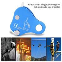 Outdoor Climbing Rope Grab Self-Locking Safety Mountaineering Protector Gear Kit