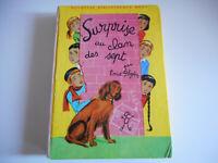 BIBLIOTHEQUE ROSE - SURPRISE AU CLAN DES SEPT / E. BLYTON - 1965