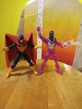 Marvel Legends Living Laser & Nighthawk action figure Thanos BAF Avengers lot