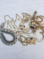 vintage costume jewellery joblot Inc Monet Napier Ciro French Connection X21
