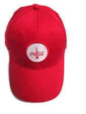 Coca-Cola 100th Anniversary Baseball Cap w/ Patch 100% Cotton Adjustable Back