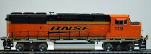ATHEARN HO Scale GP60M BNSF Diesel Locomotive #119: DCC; For Parts