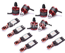 6x 2212 920KV Brushless Motor + 6x 30A SimonK RC Brushless ESC With BEC F F450