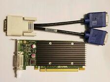 NVIDIA NVS 300 Dual Monitor VGA Graphics Video Card PCIe x16 Windows 10 GPU