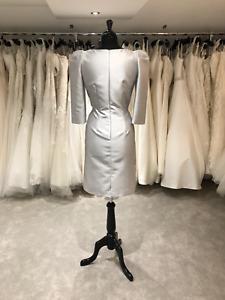 Mother Of The Bride Carla Ruiz Dress 93088 In Grey