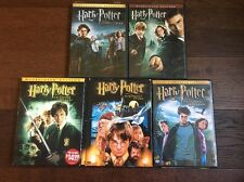 Lot Of 5 Harry Potter Movie Collection DVD Collection