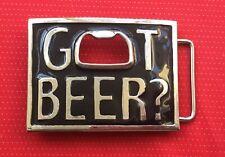 À anneau chrome lager beer bottle opener stubby ale boucle de ceinture