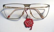 Casanova Dolce Vita C08 montatura per occhiali vintage Gold Plated 24KT 1980's