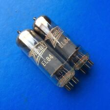 Pair of Zaerix EL84 Vintage Valves