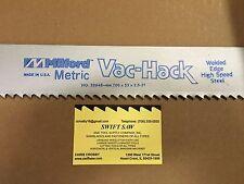 5pcs: 700mm x 55mm x 2.5mm 3T POWER HACK SAW BLADE MILFORD VAC-HACK USA BI-METAL