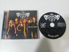 RIBELLE RBD IL NOSTRO AMORE CD VERGINE EMI 2006 EDIZIONE SPAGNA ANAHI