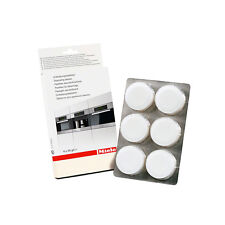 MIELE DESCALING TABLETS (Pack of 6) FOR COFFEE MACHINE 10178330 5626050 4002513