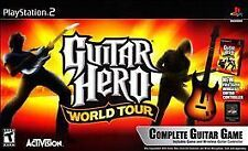 GUITAR HERO WORLD TOUR (GAME ONLY) PS2 PLAYSTATION 2 DISC ONLY