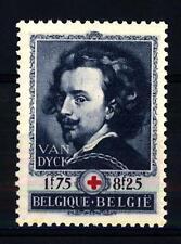 BELGIUM - BELGIO - 1944 - Pro Croce Rossa nell'80° anniversario della fondazione