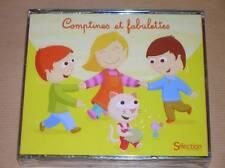 RARE COFFRET 3 CD / COMPTINES ET FABULETTES / READER'S DIGEST / NEUF SOUS CELLO