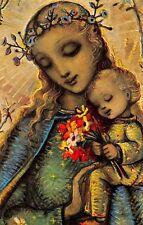 """Fleißbildchen Heiligenbild Gebetbild """" Hummel """" Holy card Ars sacra"""" H648"""""""