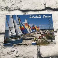 Rehoboth Bay Delaware Postcard