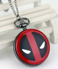 Deadpool Pocket Watch  Chain Ryan Reynolds Film Gift Superhero Avengers