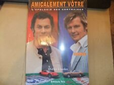 THE PERSUADERS! NEW FRENCH BOOK ROGER MOORE TONY CURTIS ITC AMICALEMENT VOTRE