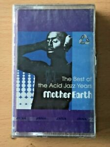MOTHER EARTH Best of Acid Jazz Years SEALED PHILIPPINES CASSETTE TAPE