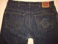 Levi Men's 559 Jeans Denim Straight Fit 40 x 30