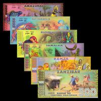 Barbados 2;5;10 dollars 2007 P-66a-67b-68b UNC SET