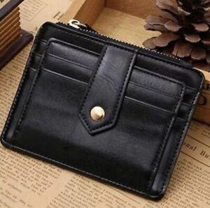 Credit Card Holders for Men & Women Soft Leather,  Slim Pocket Wallet ID Card