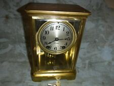 antique seth thomas crystal regulator clock original working