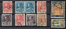 New listing Siam (Thailand) Vintage 1905-09; 1927 Accumulation of 10 fine used stamps