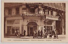 CPA -69-  LYON - Cordonnerie Générale, Place de la République.