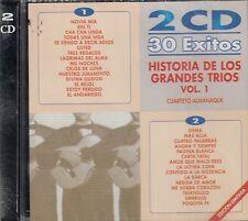 Los Galantes Los Panchos Los Dandys Historia De Los Grandes Trios Vol 1 2CD New