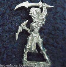1999 Dark Elf Witch 4 Citadel Elven Army Drow Warrior Warhammer Priestess Khaine
