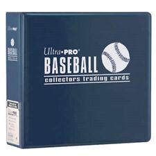 "Lot of 2 Ultra Pro 3"" Baseball Card Binder Collector's Album Blue Binders"