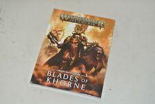 Livre warhammer : Battletome chaos -  Age Of Sigmar - Blades of Khorne NEUF