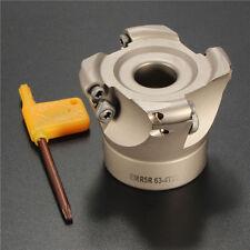 4 Flutes EMR 5R-63-22-4F Face End Mill CNC Milling Cutter For RPMT1003 Insert
