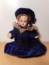 Petite poupée ancienne mignonette biscuit tete porcelaine Simon Halbig old doll