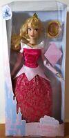 "Disney Store Classic Doll PRINCESS AURORA  11 1/2"" Sleeping Beauty New"