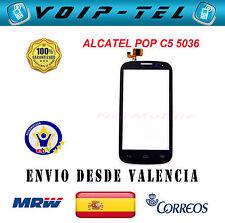 PANTALLA TACTIL ALCATEL ONE TOUCH POP C5 OT5036 OT 5036 5036D 5036X NEGRO