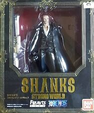 New Bandai Figuarts Zero One Piece Shanks Strong World Ver. Pre-Painted