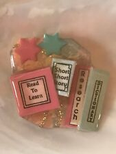 Pink & Blue with Two Stars READ TO LEARN Short Story RESEARCH Dictionary Book Pi