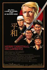 MERRY CHRISTMAS, MR. LAWRENCE (1983) ORIGINAL MOVIE POSTER  -  ROLLED