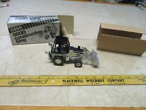 VTG Case 580D Construction King 1/35 Model Conrad Germany Backhoe Loader Silver