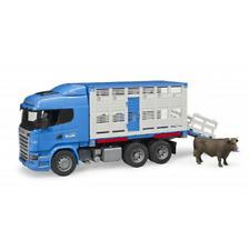 Bruder Scania R-Serie Tiertransport–LKW mit 1 Rind Viehtransporter 03549 NEUHEIT
