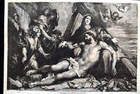 La deposizione della Croce, quadro di Antoon Van Dyck Incisione del 1869