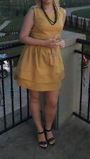 Pretty Girl Dress Size 10 Beautiful Mustard/gold Colour Wedding Bridesmaid